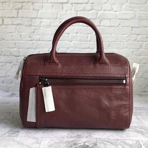 NEW Frye Lena Zip Leather Satchel